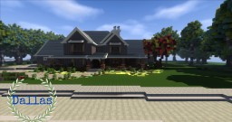 Dallas- Comtemporary House Minecraft Map & Project