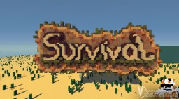 "Schematic - LobbySign ""Survival"" [v2] Minecraft Map & Project"