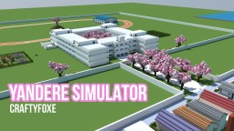 Yandere Simulator Map [includes House + School] Minecraft Map & Project