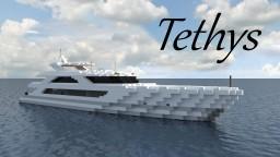 Superyacht 'Tethys' (full interior) Minecraft Project
