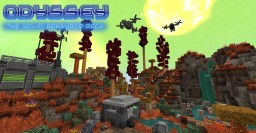 ODYSSEY : the Sci-Fi resource pack Minecraft