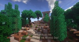Trees and Plants: Mediterranean and the Middle East (Olive Update!!) Minecraft Map & Project