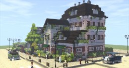 A flower shop Minecraft