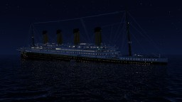 Titanic sinking at 0.45 AM Minecraft Project