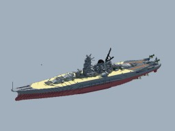 IJN Battleship yamato(1941) Minecraft Map & Project