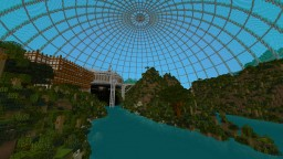 Jurassic Park - scale 1-1 Minecraft Map & Project