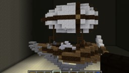 Small airship Minecraft Project
