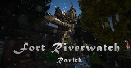 Fort Riverwatch  | Nordic village and keep #weareconquest Minecraft Project