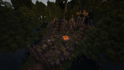 Barbarian Campsite Outpost | Conquest Reforged Minecraft