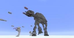 Minecraft 1.9: Star Wars - Hoth Battlefield Minecraft Map & Project