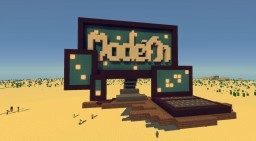 "Schematic - LobbySign ""Modern"" Minecraft Project"