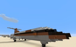 Boeing 727-200 Advanced Ansett Minecraft Project