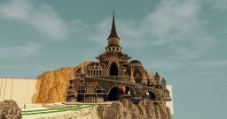 Fantasy temple Minecraft
