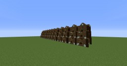 Wall Base Plus Tower Base Minecraft Project