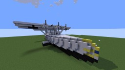 DL D X (1942) Flyboat Artic Version Minecraft Project