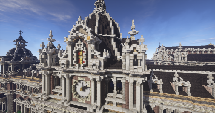 Cupola Clocktower Detail