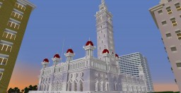 Madison Square Garden II - New York - 1890-1926 Minecraft Project