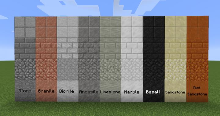 Minecraft Marble Block : Just build it  adds unique building