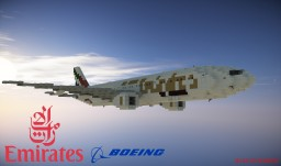 BOEING 777-300ER In 1:1 Scale [Full Interior] Minecraft Project