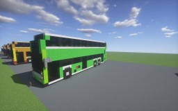 Alexander Dennis Facelift series doubledecker bus Minecraft Map & Project