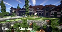 European Mansion Minecraft Map & Project
