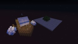 Floating Boat With Island Minecraft