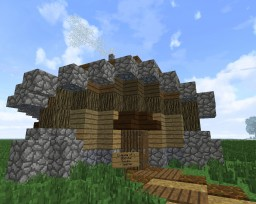 Diagonal (Medieval) House Minecraft Map & Project