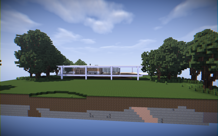 The Farnsworth House Minecraft Project