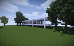 The Farnsworth House Minecraft Map & Project