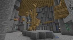 Underground Mine PvP Arena Minecraft Project