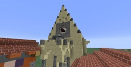 Gothic Eastern-European Synagogue Minecraft Map & Project