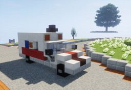 American Ambulance Minecraft Map & Project
