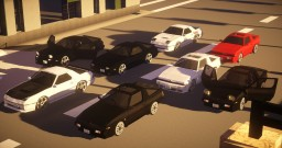 [MC Heli MOD] arukarisui's 90's Car Pack ver.1.0 (1.7.10) Minecraft