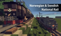 Norwegian & Swedish National Rail (2 Train combos) Minecraft Project