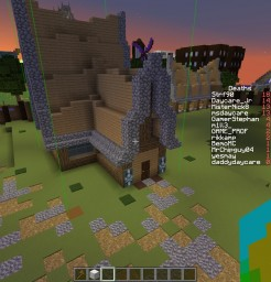 Medieval village buildings - Scematic Minecraft Map & Project