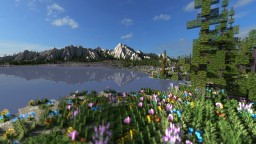 Mountain Valley Meadow - Ultra Realistic Terrain Minecraft