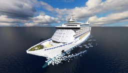 Adventure Of The Seas - 1:1 SCALE { Royal Caribbean's Cruise ship } Minecraft Project