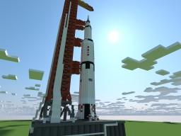 Apollo - Saturn V  [1:1] [NASA] Minecraft Map & Project