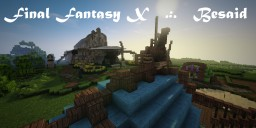 Besaid Temple, Village and Quest [Final Fantasy X] Minecraft Map & Project