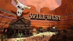 [Brawl.com] Wild West - 14k by 14k custom map and gamemode! Minecraft Map & Project