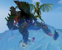 Dragon's Sanctuary Minecraft Map & Project
