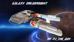Star Trek: Galaxy-class Dreadnought +Download Minecraft Map & Project