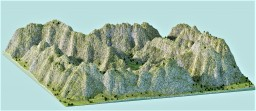 Barren Mountains Minecraft Project