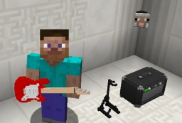 MusicCraft - with sound recorders! Add playable instruments to Minecraft! Minecraft Mod