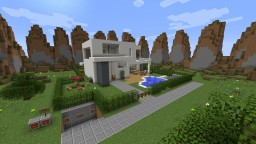 Modern Redstone House 2.0 20+ Creations Minecraft Map & Project