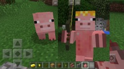 Super Saiyan Pigs Addon [MCPE]