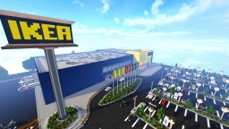 IKEA Minecraft Map & Project