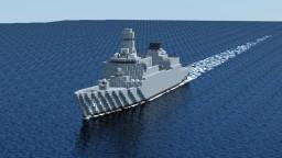 PLAN Type 055 destroyer Minecraft