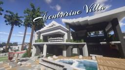 Aventurine Villa - Modern House #3 Minecraft Map & Project