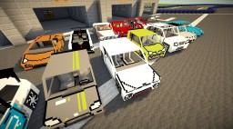Best mods for cars in Minecraft